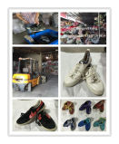 De grote Gebruikte Schoenen van de Mens van de Grootte Sport voor de Markt van Afrika