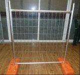 Clôture provisoire galvanisée Chaud-Plongée/clôture portative