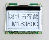 type graphique de dent de l'écran LCD 160X80 module d'affichage à cristaux liquides (LM16086C) avec la qualité