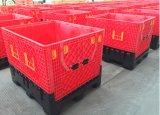Recipiente plástico dobrável padrão da pálete da especificação 1200X1000X1000