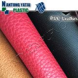 2016 couros resistentes de descascamento do PVC para bagagens e mala de viagem