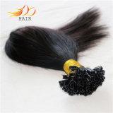 U-Capovolgere i capelli brasiliani di Remy di estensione dei capelli umani del 1b di colore