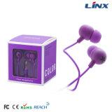 Vente chaude dans l'écouteur de modèle d'oreille avec la boîte-cadeau