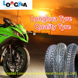 Neumático aprobado de la motocicleta de ISO9001 y del PUNTO con de calidad superior (3.00-8)