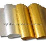 Película do animal de estimação da impressão do ouro e da prata