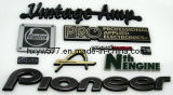 Эмблема значка крома изготовленный на заказ металл/пластмасса/вышивка/мягко автомобиль PVC автоматическая с логосом