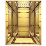 تجاريّة بناية مصعد مع زخرفة