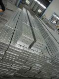 Prolongación del andén de acero del tablón del andamio para el sistema del marco