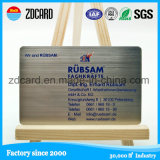 Promotion Metal Gift Gold / Silver Card