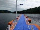 Piattaforma di galleggiamento del pontone di plastica