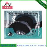 Anti enrugamento Eyepatch do colagénio de cristal preto do cuidado de pele do olho da máscara do tratamento do olho da lama