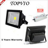 Alta Lumens Bridgelux COB al aire libre impermeable IP65 50W LED Floodlight