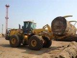 Lw600kn chargeur de roue de 6 tonnes avec la bride, climatiseur, contrôle pilote
