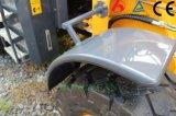 ¡Cargador compacto de la rueda de Zl16f con venta caliente de la fábrica de China del Ce!