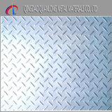 Mme Steel Checkered Plate de S235jr heure