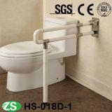 Barra di gru a benna dell'acciaio inossidabile della vasca da bagno/corrimano pieganti portatili di nylon