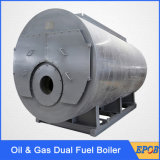 Газовое маслоо Wns 2ton пара выхода дымогарной труба - ый боилер с всеми оборудованиями
