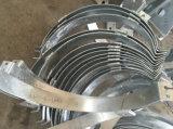 Peças galvanizadas da fabricação e da soldadura de metal do MERGULHO quente para a porta do elevador do edifício