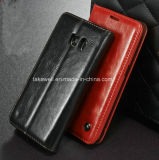 O melhor Selling Flip plutônio Leather Caso de 2016 para Samsung Galaxy S5 Cell Phone Cover Caso