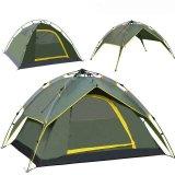 3-4人の自動キャンプテント