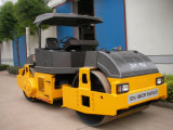 10 톤 두 배 드럼 진동하는 도로 쓰레기 압축 분쇄기 (YZC10J)