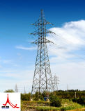 Передающая линия стальная конструкция электричества 33kv башни решетки