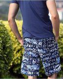 Shorts stampati blu scuro del carico degli uomini di nuovo disegno
