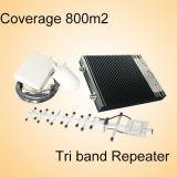 27dBm G/M WCDMA 3G Lte 4G Signal Repater Tri Band-Signal-Verstärker (ST-GW4G)