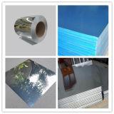 1060 H18/H16 파란 필름 미러 완료 사려깊은 알루미늄 장
