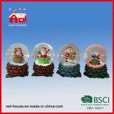 De Gift van de Dag van Kerstmis van de Decoratie van het Huis van de Bol van de Sneeuw van de Kerstman van Polyresin