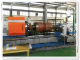 Torno de pulido horizontal del CNC para el tubo de petróleo que trabaja a máquina Hardbanding (CG61100)
