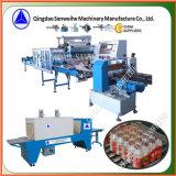 Amplios Botellas fila Multi film retráctil máquina de embalaje