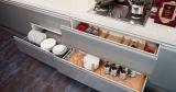 De populaire MDF van Nieuwe Producten Moderne Ontwerpen van de Keukenkast van de Lak (zz-060)