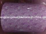 La qualité a enduit la bobine d'une première couche de peinture en acier galvanisée PPGI