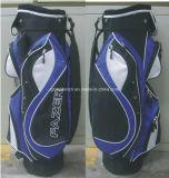 мешок гольфа тележки гольфа путешествия 14-Way с 2 карманн