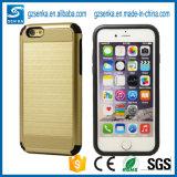 iPhone 6/6 аргументы за задней стороны обложки мобильного телефона щетки предохранителя Shine добавочное