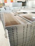 Gym Utiliser un casier en acier inoxydable avec bar en tissu
