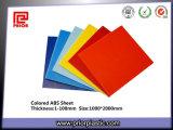 Plats colorés d'ABS pour Thermoforming avec le certificat de GV