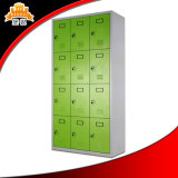 Approvisionnement de fournisseur de la Chine bon marché 12 casiers en acier de gymnastique de porte avec la bonne qualité
