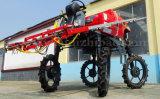 Pulverizador automotor do crescimento da névoa do cereal do TGV do tipo 4WD de Aidi para o campo enlameado