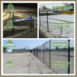 Panneau provisoire vert /Fencing de frontière de sécurité de construction