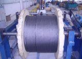 비 건축재료를 위한 철강선 밧줄 35X7를 자전하는 검정