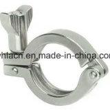 Braçadeira resistente sanitária da fundição de aço inoxidável (1/2-6)