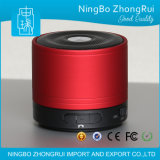 Redonda de metal RoHS Speaker Mini Bluetooth