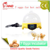 Prix bon marché de mini incubateur marqué d'oeufs de la CE de Hhd à vendre