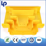 UL94-Vo ABS van Retardent van de Vlam Buis van het Toevoerkanaal van de Vezel van het Profiel van pvc de Plastic