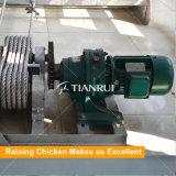 Автоматическое оборудование чистки позема цыпленка батареи Scrapper