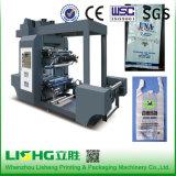 Крен для того чтобы свернуть поли мешки основал печатную машину Flexo цвета чернил 6