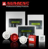 1 painel de controle endereçável do alarme de incêndio do laço (6001-02)