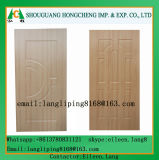 Geformte/lamellierte Furnierholz-Tür-Haut mit natürlichem oder ausgeführtem hölzernem Furnier-Blatt